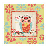 Owl 3 Frame Print by Stephanie Marrott
