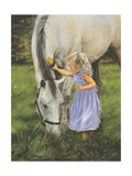 Grace and the Grey Lámina giclée premium por Leslie Harrison