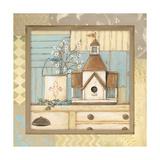Birdhouse II Poster by Jo Moulton
