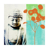 Buddha II Prints by Linda Woods