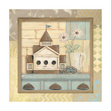 Birdhouse I Prints by Jo Moulton