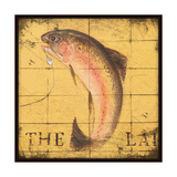 Lodge Fish Prints by Stephanie Marrott