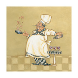 Seafood Chef Prints by Stephanie Marrott