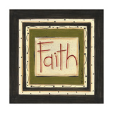 Faith Poster by Karen Tribett
