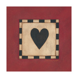 Corazón Láminas por Stephanie Marrott