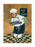 Hug the Chef Prints by Vickie Wade