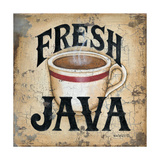 Fresh Java Posters by Kim Lewis