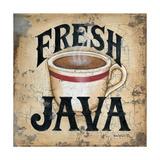 Fresh Java Poster by Kim Lewis