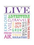 Live Poster by Anna Quach