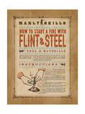 Manly Skills V Prints by Stephanie Marrott