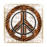 Peace Tiger Posters by Jennifer Pugh