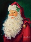 Santa Poster par Susan Comish