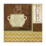 Pure Organic Coffee Premium Giclee Print by Jennifer Pugh