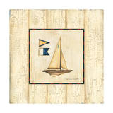 Weathered Boat I Prints by Stephanie Marrott