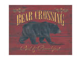 Bear Crossing Posters by Stephanie Marrott