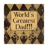World's Greatest Dad Art by Jo Moulton
