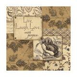 Live, Laugh, Love Posters by Jo Moulton