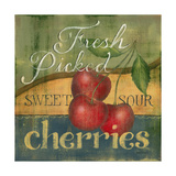 Cherries Posters by Kim Lewis