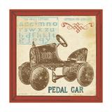 Vintage Pedal Car Posters by Jo Moulton