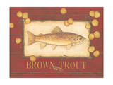 Brown Trout Prints by Stephanie Marrott