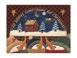 Home for Christmas Posters by Jo Moulton