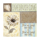 Live Laugh Love Premium Giclee Print by Jo Moulton