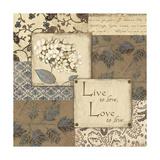Live, Love Prints by Jo Moulton