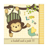 I Love You Monkey Posters by Jo Moulton
