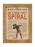 Manly Skills IV Print by Stephanie Marrott