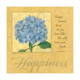 Happiness, Hydrangea Láminas por Stephanie Marrott