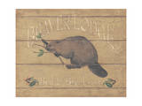 Beaver Lodge Prints by Stephanie Marrott