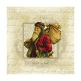 Babbo Natale Print by Stephanie Marrott