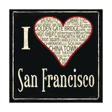 San Francisco Prints by Jo Moulton