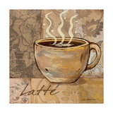 Latte Print by Jo Moulton