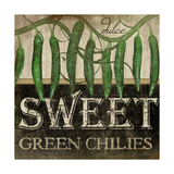 Sweet Green Chilies Posters par Jennifer Pugh