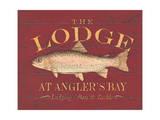 The Lodge Print by Stephanie Marrott