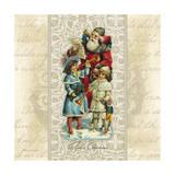 Father Christmas Art by Stephanie Marrott