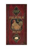 Premium Hens Prints by Jo Moulton