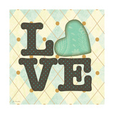 Love Boys Print by Jo Moulton