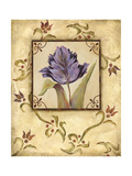 Purple Tulip Prints by Jo Moulton