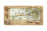 Chickadee Prints by Anita Phillips