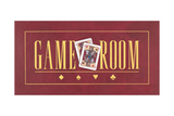 Game Room Poster by Stephanie Marrott