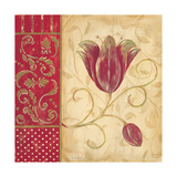 Red Tulip I Posters by Jo Moulton