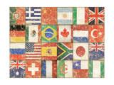 Banderas del mundo Pósters por Stephanie Marrott