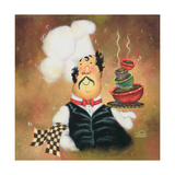 Bow Tie Chef Prints by Vickie Wade