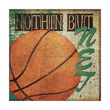 Nothin But Net Prints by Jo Moulton