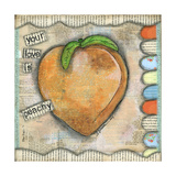 Your Love Is Peachy Art by Denise Braun