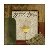 Vino blanco Pósters por Jennifer Pugh