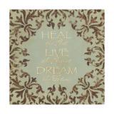 Heal Live Dream Láminas por Stephanie Marrott