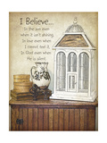 I Believe Print by Jo Moulton